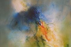 OFFENES BLAU-2013-Öl auf Leinwand 100x120cm