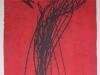 Öl/Monotypie auf Papier, 2004, 30x21,5cm