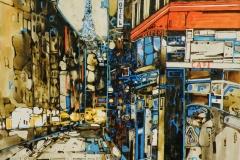 Ralf Ortner-Paris-Acryl/Lw-40x40cm