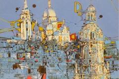 Ralf Ortner-Paris-Sacre Coeur-Fotoüberarbeitung/Acryl/Lw-40x50cm