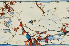 Ralf Ortner-Winter-Acryl/Lw-50x20cm