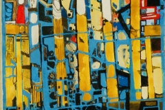 Ralf Ortner-Brandenburger Tor-Acryl/Lw-50x20cm