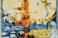 Ralf Ortner-Paris Eifelturm-Acryl/Lw-50x20cm