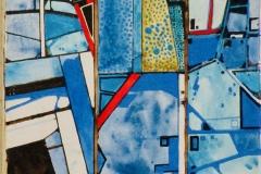 Ralf Ortner-Metamorphose-Acryl/Lw-50x20cm