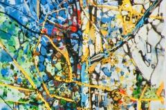 Ralf Ortner-Unterholz-Acryl/Lw-30x24cm