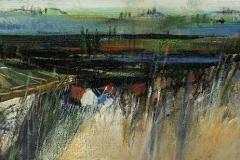 Suedsteiermark - 2020 - Acryl auf Leinwand - 20 x 50 cm