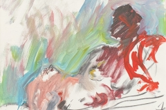 Herwig Zens - 2014 Acryl, Kohle, Lw 40x50cm publiziert