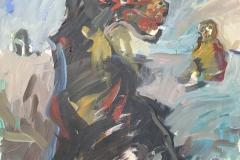 Herwig Zens-Hexensabbat-2007-Acryl/Lw-100x80cm publiziert
