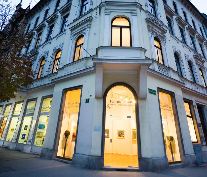 Die Galerie Andreas Lendl - Haus der Kunst Graz