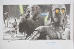 Arena Mayhem / Original Zeichnung / 26,5 x 37,5 cm