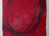 Öl/Monotypie auf Papier, 2004, 30x21cm