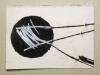 Monotypie auf Papier, 2017, 10,5x14,8cm