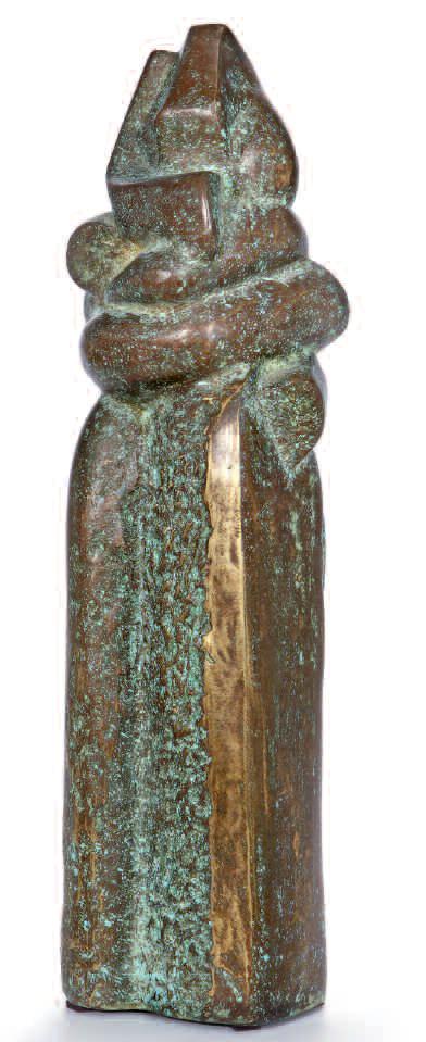 umarmung_bronze