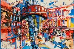 Ralf Ortner-Venedig-Acryl/Lw-40x40cm