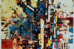 Ralf Ortner-Rom-Acryl/Lw-30x24cm