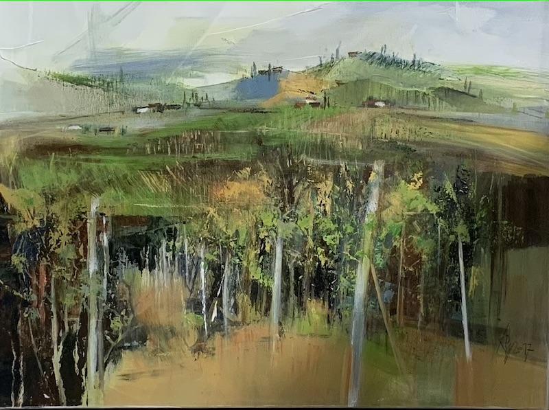 Suedsteiermark - 2017 - Acryl auf Leinwand - 60 x 80 cm