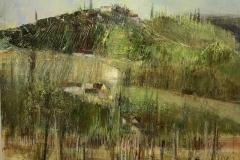 Suedsteiermark - 2019 - Acryl auf Leinwand - 40 x 40 cm