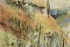 bei Gamlitz - 2019 - Acryl auf Leinwand - 40 x 40 cm