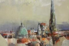 Wien - 2017 - Acryl auf Leinwand - 40 x 50 cm