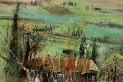 Toskana - 2020 - Acryl auf Leinwand - 40 x 50 cm