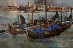 Venedig Giudecca - 2020 - Acryl auf Leinwand - 50 x 70 cm
