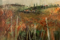 Weinherbst - 2020 - Acryl auf Leinwand - 50 x 70 cm