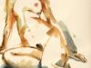 Akt-2012-Acryl auf Papier-76,5x56cm