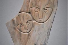 Sailot Ziira - Mother and Girl - H 53 cm