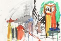 Herwig Zens-Athos-Kloster-Acryl/Lw-50x70cm