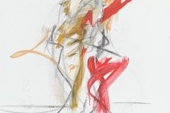 Herwig Zens-Tanzende.2015 Acryl, Kohle 100x80cm publiziert