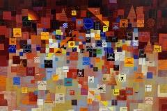 Early summer - Acryl auf Leinwand - 70 x 100 cm